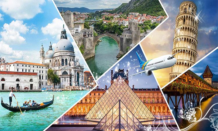 Cơ hội du lịch nhiều nơi