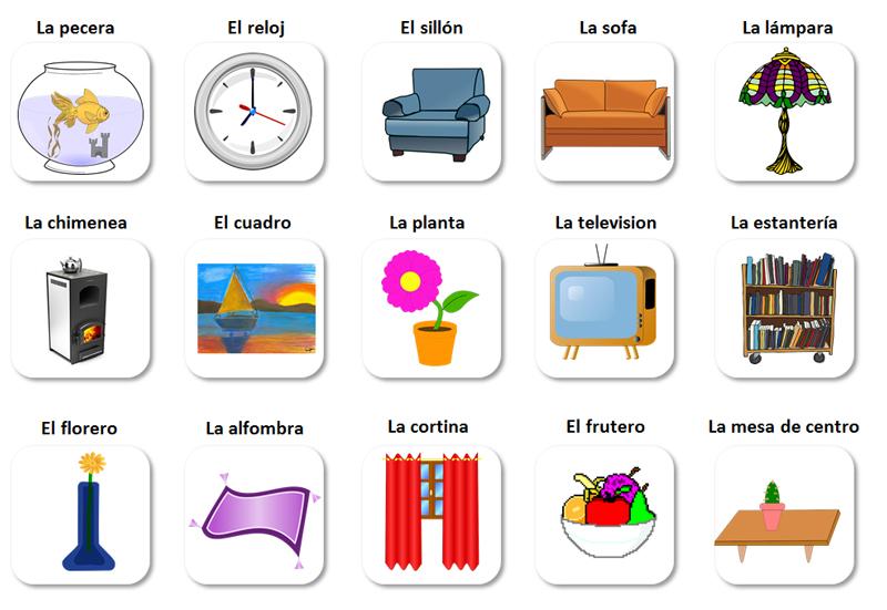 Học tiếng Tây Ban Nha qua flashcard