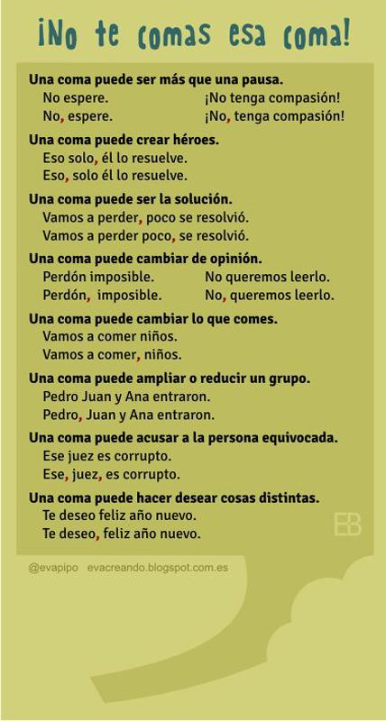 Lỗi nhầm lẫn trong tiếng Tây Ban Nha khi dấu phẩy có thể thay đổi nghĩa của câu