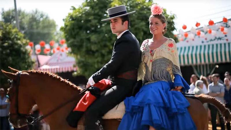 Lễ hội Feria của vùng Sevilla Tây Ban Nha
